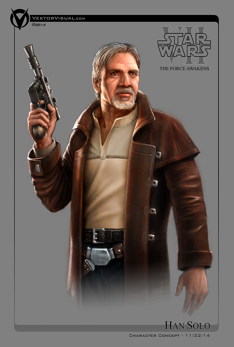 Star Wars Episode VII - Han Solo Character Concept